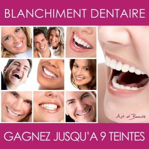 blanchiment dentaire à Nice chez Art et Beauté depuis 2008