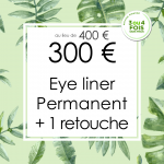 Offres Rentrée 2018 à Nice : 👁️ Eye Liner Permanent 300 € au lieu de 400 € avec 1 retouche comprise